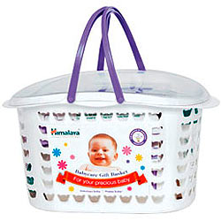 Himalaya's Priming-the-Tot Baby Care Gift Basket