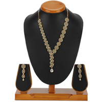 Exuberant Captivation Necklace with Earrings Set