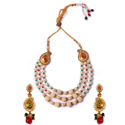 Stunning Wedding Special Necklace Set