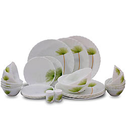 Dinner in Style with La Opala Melody 20 Pieces Dinner Set