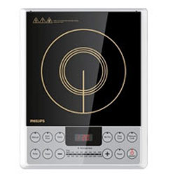 Remarkable Phillips Black Induction Cook Top with Cool Touch Surface