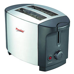 Fancy Popup Toaster Stainless Steel from Prestige
