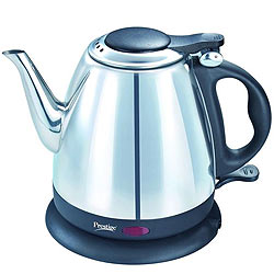 Remarkable 1200W Electric Kettle from Prestige 1 Ltr.