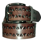 Brown Geuinie Leather Casual Belt for Men from Longhorn