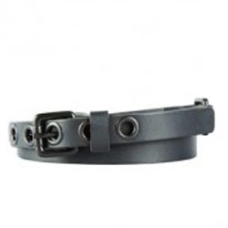 Eye-Catching Ladies Black Leather Belt from Titan Fastrack