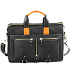 Fantastically cecorated Laptop bag for gents from Leather Talks