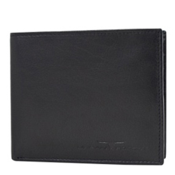 Fascinating Urban Forest Leather Gents Wallet of Colour Black