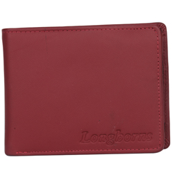 Fantastic Longhorn Brown Coloured Gents Leather Wallet