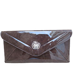 Breathtaking Leather Hand Bag in Brown Color from Spice Art
