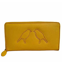 Breathtaking Spice Art Yellow Ladies Purse with Hint of Glamour