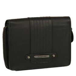 Fashionable Ladies Favorite Black Color Wallet from Titan Fastrack