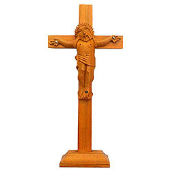 Auspicious Sandalwood Crucified Jesus