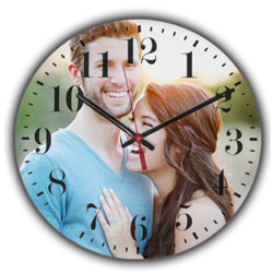 Timeless Surprise Personalised Table Clock