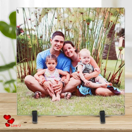 Best Personalized Photo Tile (Square)