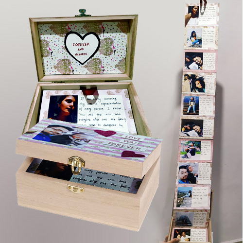 Standard Infinity Box of Personalized Message n Photos