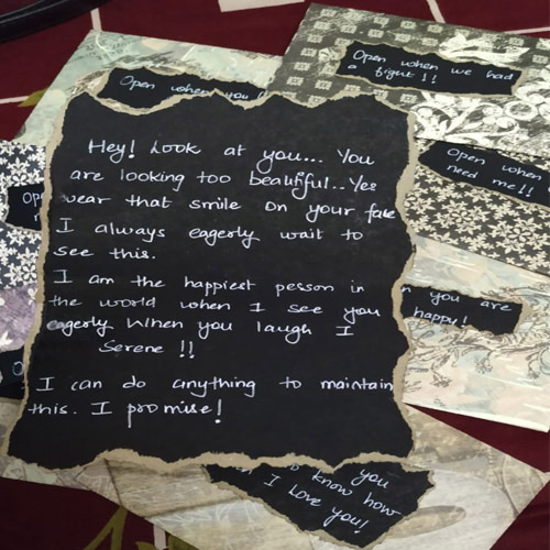 Exquisite Personalized Event Letters