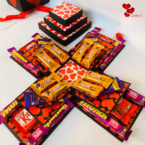Special Chocolate Explosion Box (3 Layers)