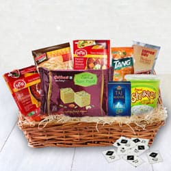 Enjoy your weekend with Ready - To - Eat Veg Dinner Hamper