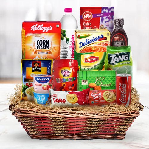 Dynamic Grand Signature Breakfast Gift Basket