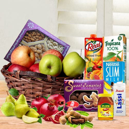 Adorable Holiday Sweet Breakfast Treat Gift Basket