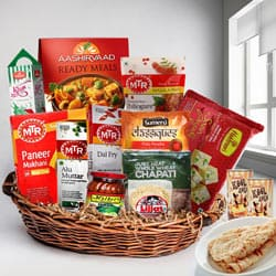 Exciting Lunch Hamper with North Indian Tadka