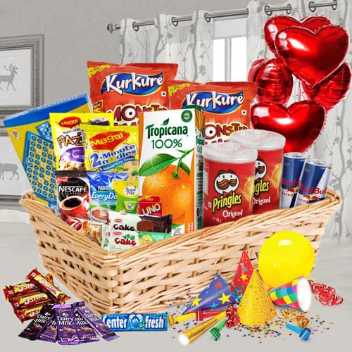 Sophisticated Party Celebration Gift Basket