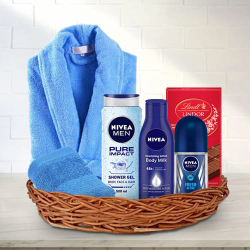 Amazing Grooming Gift Basket for Him