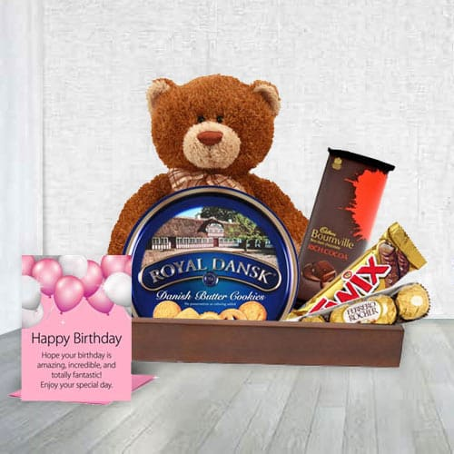 Exceptional Birthday Delicacy Gift Hamper