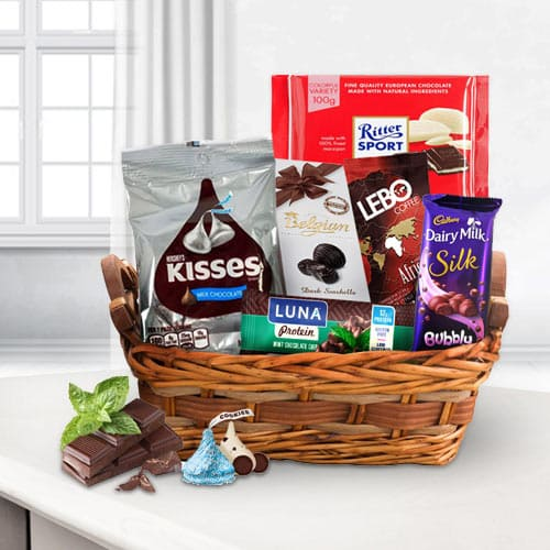 Treasured Chocolate Overloaded Gift Basket