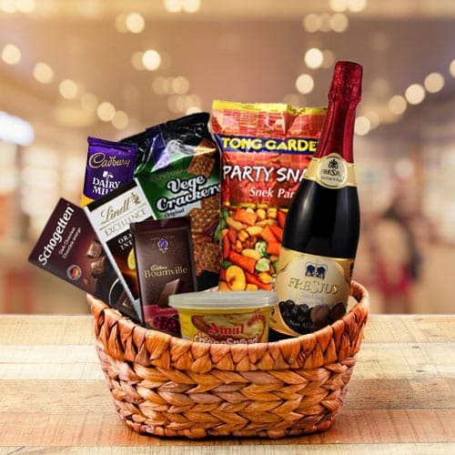 Joyful Premium Assortments Gift Basket with Lots