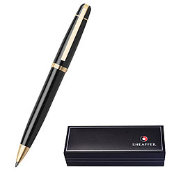 Smooth Writing With Glossy Black Featuring Gold Tone Trim Pen From Sheaffer