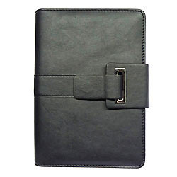 Dashing Black Coloured Office Planner Diary with Dynamic Decoration