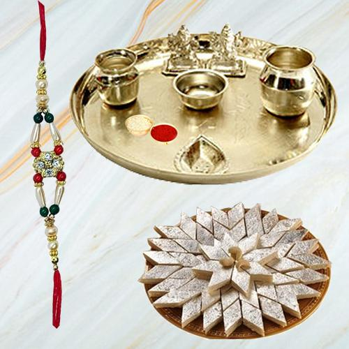 Appealing Rakhi with Tender Sentiments