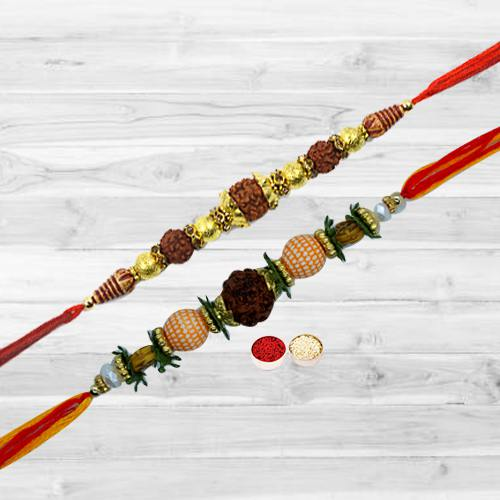 Stunning Thread Rakhi