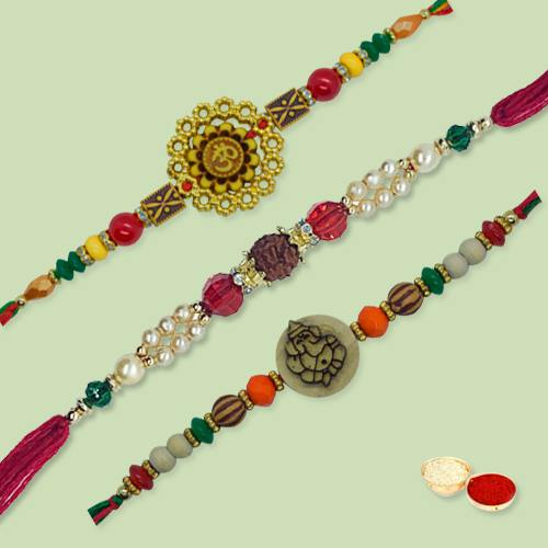 Amazing Ethnic Rakhi Thread