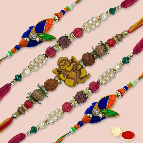 Classy Rakhi Thread with Brotherly Love