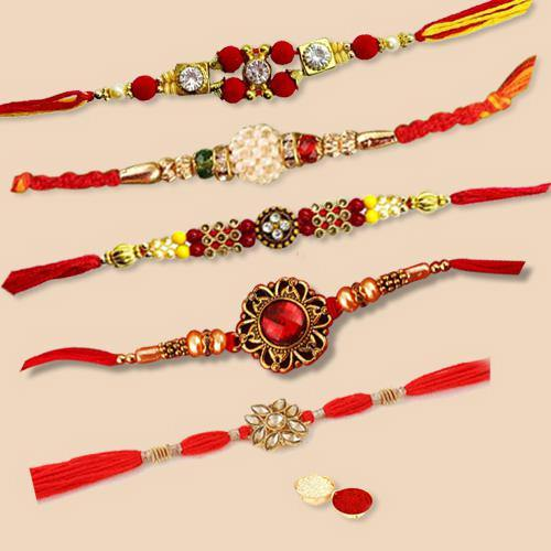 Traditional Set of Regular Rakhis