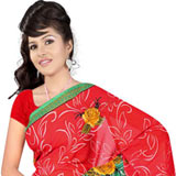 Impressive Suredeal Georgette Printed Saree Collection