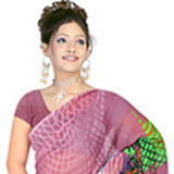 Charming Suredeal Women's Georgette Printed Saree
