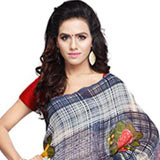 Trendsetting Geogette Saree