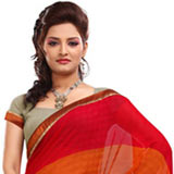 Exotic Faux Georgette Saree
