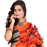Feisty Fancy Faux Georgette Saree