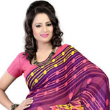 Jaunty Attraction Georgette Saree