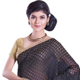 Vibrant Flair Net Chanderi Saree