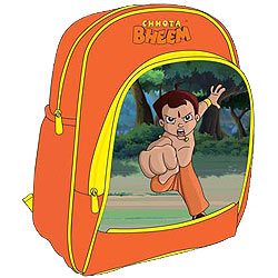 Chota Bheem School Bag for Kids