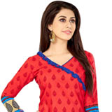 Gaudy Welcome Branded Cotton and Chiffon Printed Salwar Suit