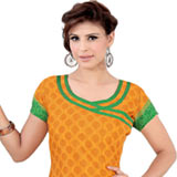 Luminous Pomp Crepe Salwar Suit