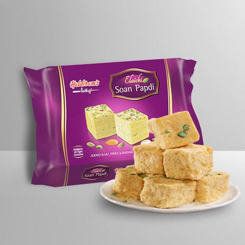 Delectable Soan Papdi from Haldirams