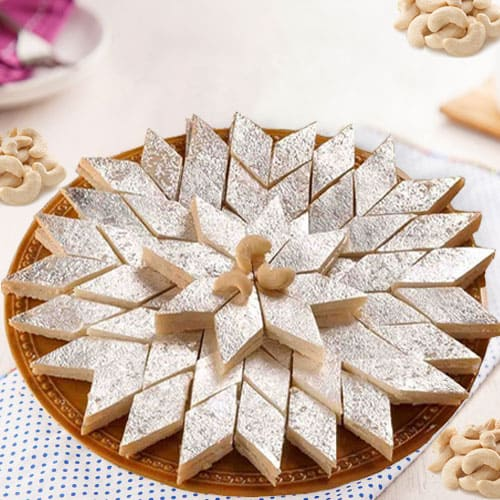 Yummy Kaju Katli from Haldirams