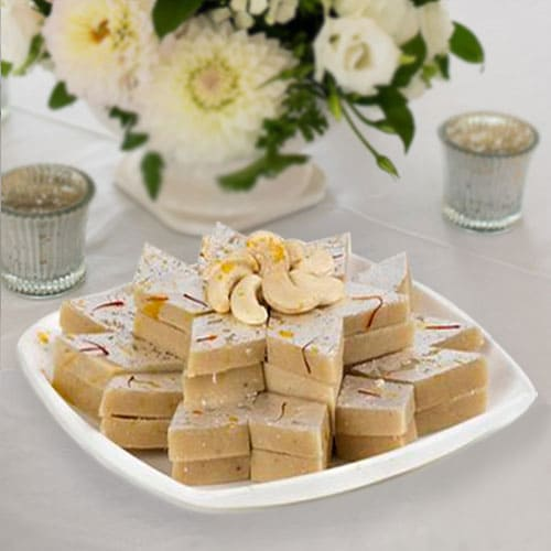 Awesome Kaju Barfi